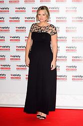 October 18, 2016 - London, London, UK - Pregnant KIMBERLEY WALSH attend the Variety Showbiz Awards at the Hilton Park Lane Hotel. London, UK. (Credit Image: © Ray Tang/London News Pictures via ZUMA Wire)
