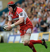 Wycombe, GREAT BRITAIN, Gloucesters', Luke NARRAWAY, during the Guinness Premiership game, London Wasps vs Gloucester Rugby, Sun. 04.05.2008 [Mandatory Credit Peter Spurrier/Intersport Images]