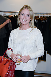 ARABELLA LLEWELLYN daughter of the late Sir Dai Llewellyn at a preview evening of the Leon Max Autumn Winter Collection 2013 held at Leon Max, 229 Westbourne Grove, London W11 on 24th September 2013.
