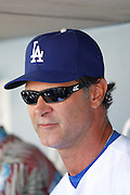 LOS ANGELES, CA - JUNE 30:  Don Mattingly #8 of the Los Angeles Dodgers talks to the media before the game against the New York Mets on Saturday, June 30, 2012 at Dodger Stadium in Los Angeles, California. The Mets won the game in a 5-0 shutout. (Photo by Paul Spinelli/MLB Photos via Getty Images) *** Local Caption *** Don Mattingly
