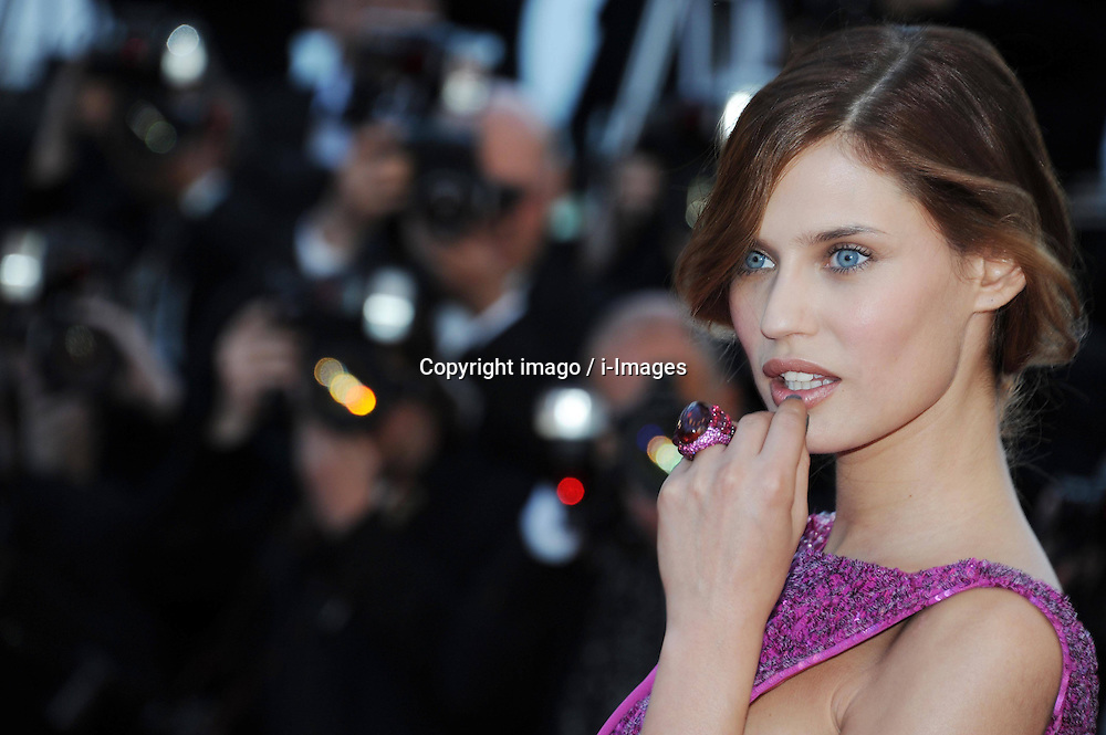 59698396  .Bianca Balti attends the premiere of 'The Immigrant' at The 66th Annual Cannes Film Festival on May 24, 2013..UK ONLY