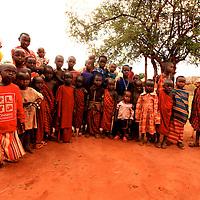 MAASAI ELDER & TRIBE TANZANIA