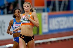 07-07-2016 NED: European Athletics Championships day 2, Amsterdam<br /> Nicky van Leuveren plaatst zich voor de finale.