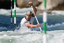 Matej BENUS of Slovakia during the Canoe Single (C1) Men SemiFinal race of 2019 ICF Canoe Slalom World Cup 4, on June 28, 2019 in Tacen, Ljubljana, Slovenia. Photo by Sasa Pahic Szabo / Sportida