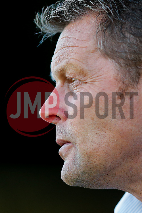Bristol City Manager Steve Cotterill looks on - Mandatory byline: Rogan Thomson/JMP - 07966 386802 - 30/07/2015 - FOOTBALL - Huish Park Stadium - Yeovil, England - Yeovil Town v Bristol City - Pre Season Friendly.