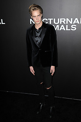 November 17, 2016 - New York, NY, USA - November 17, 2016  New York City..Neels Visser attending the 'Nocturnal Animals' premiere at The Paris Theatre on November 17, 2016 in New York City. (Credit Image: © Callahan/Ace Pictures via ZUMA Press)