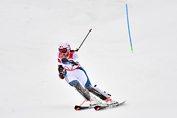 BOCHET Marie LW6/8-2 FRA competing in the ParaSkiAlpin, Para Alpine Skiing, Slalom at the PyeongChang2018 Winter Paralympic Games, South Korea.