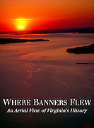 Cover of Where Banners Flew: An Aerial View of Virginia's History