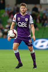 January 19, 2019 - Melbourne, VIC, U.S. - MELBOURNE, VIC - JANUARY 19: Perth Glory defender Alex Grant (2) watches on at the Hyundai A-League Round 14 soccer match between Melbourne City FC and Perth Glory on January 19, 2019, at AAMI Park in VIC, Australia. (Photo by Speed Media/Icon Sportswire) (Credit Image: © Speed Media/Icon SMI via ZUMA Press)