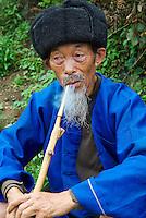 Chine. Province du Guizhou. Homme Miao// China. Guizhou province. Miao man.
