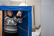 OFFERED: Canvass wardrobe - Cazenove Rd, N16 .Keep your clothes tidy and easily accessible. Blue canvass wardrobe offered, it has been customised to have one long clothes rail (no shelves). 117cm wide, 174 cm high. Perfectly good condition, we got it from freecycle a few years ago and it has done us proud. We've left it intact but it does collapse down of you want to take it away on the bus, best you do it yourself so you know how to put it back together.