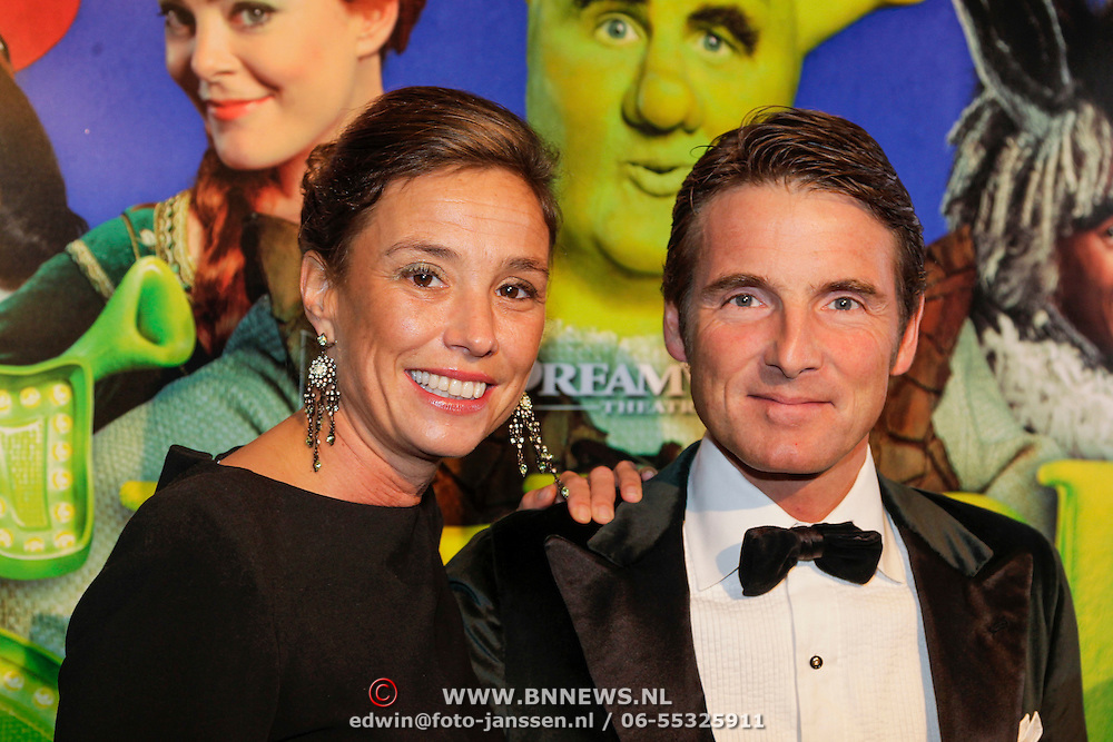 NLD/Amsterdam/20121104 - Premiere Shrek de musical, Pr. Maurits en prinses Marilene