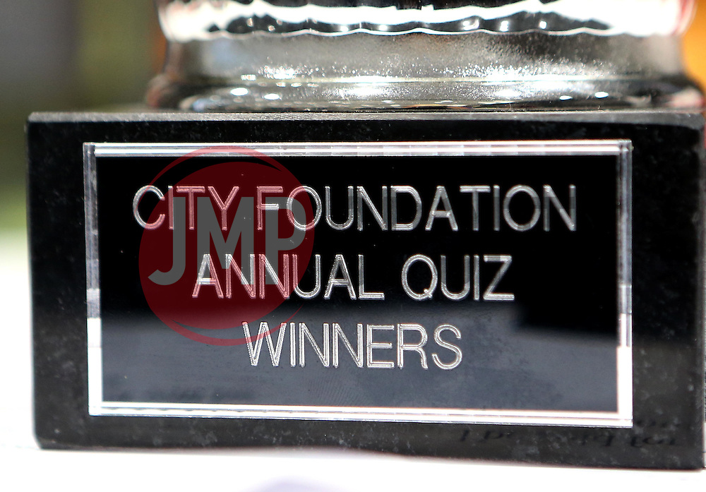 The Bristol City Foundation Annual Quiz Trophy - Mandatory by-line: Robbie Stephenson/JMP - 19/09/2016 - FOOTBALL - Ashton Gate - Bristol, England - Bristol City Community Trust Quiz