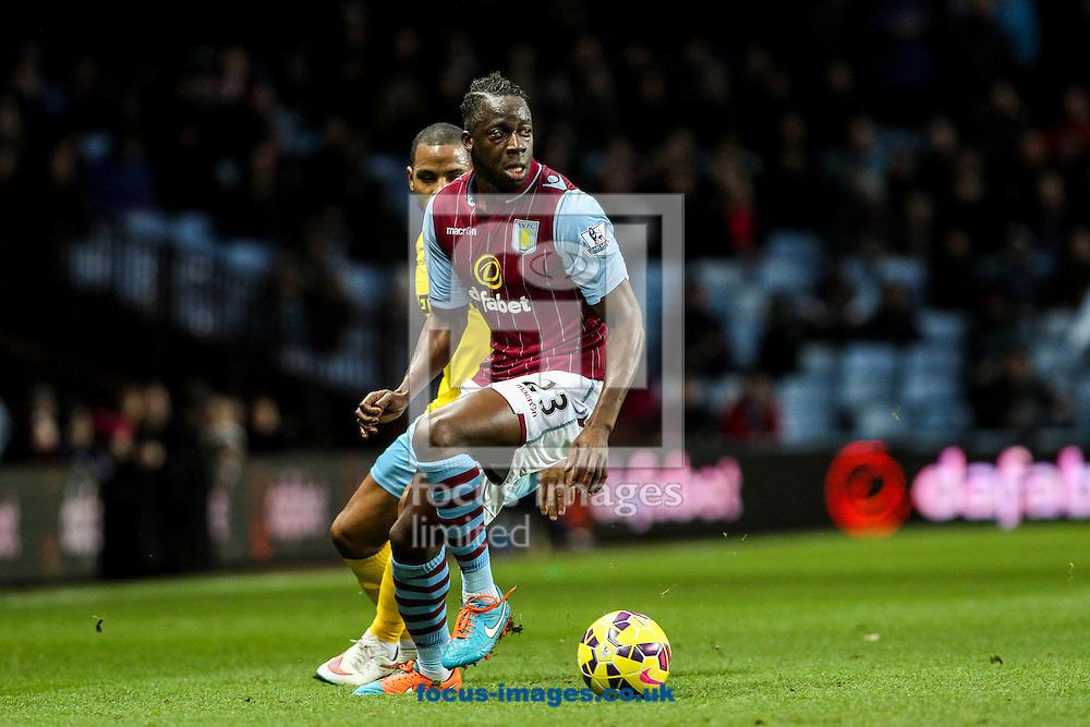 Aly Cissokho of Aston Villa during the Barclays Premier League match at Villa Park, Birmingham<br /> Picture by Andy Kearns/Focus Images Ltd 0781 864 4264<br /> 01/01/2015