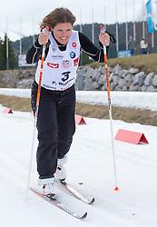 22.03.2014, Gschwandtkopf, Seefeld, AUT, 8. World Star Ski Event, Star Team for Children, Biathlon, im Bild Pernilla Wiberg (Olympiasiegerin und Weltmeisterin Ski Alpin) // during the Biathlon of Star Team for Children of 8th World Star Ski Event at the Gschwandtkopf course in Seefeld, Austria on 2014/03/22. EXPA Pictures © 2014, PhotoCredit: EXPA/ Johann Groder
