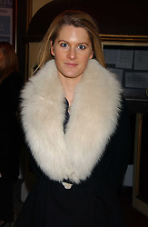 LADY KINVARA BALFOUR at the launch of 'Grand Classics:Films with Style' series in London hosted by Vivienne Westwood at The Electric Cinema, Portobello Road, London W11 on 20th March 2006.<br /><br />NON EXCLUSIVE - WORLD RIGHTS