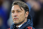 Bayern Munich manager Niko Kovač during the Champions League match between Tottenham Hotspur and Bayern Munich at Tottenham Hotspur Stadium, London, United Kingdom on 1 October 2019.