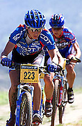 switzerland's barbara blatter at the 2000 sea otter classic in monterey, california.
