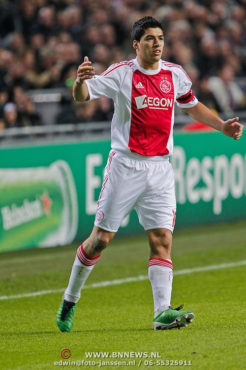 NLD/Amsterdam/20101123 - Ajax - Real Madrid, Luis Suarez (16)