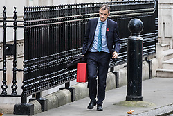 © Licensed to London News Pictures. 09/11/2017. London, UK. Conservative Chief Whip Julian Smith seen on Downing Street. Photo credit: Rob Pinney/LNP