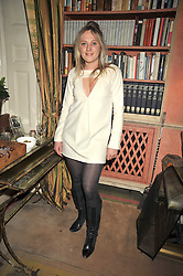 TALLULAH RENDALL at a party to celebrate the publication of 'A Lion called Christian' held at 36 Chapel Street, London SW1 on 26th March 2009.