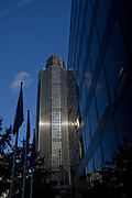 Londyn, 2009-10-23. <br /> City, Centrum finansowe Londynu - siedziba wielu ważnych instytucji takich jak Giełda i Bank Anglii