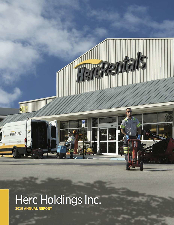 Annual Report Cover Image for Herc Holdings