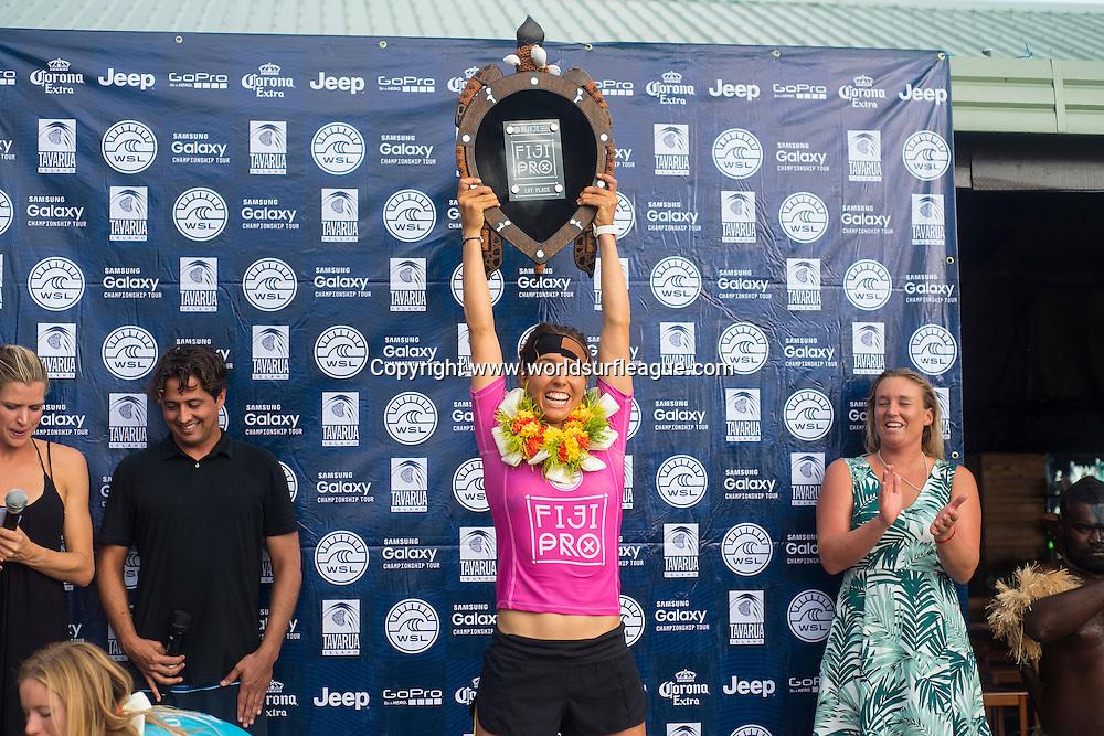 Winner 2015 Fiji Women's Pro