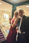 JULIETTE JOHNSTONE; MICHAEL TUDORANCEA, The Royal Caledonian Ball 2013. The Great Room, Grosvenor House. Park lane. London. 3 May 2013.