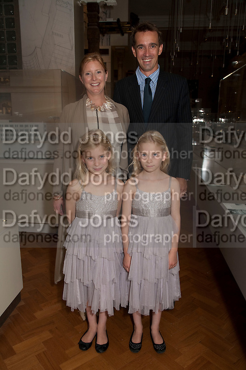 JESSICA FRANKOPAN; PETER FRANKOPAN; FIORA FRANKOPAN; KATARINA FRANKOPAN; Opening of the V. and A.'s New Ceramics Galleries by the Princess Royal. V. & A. London. 16 September 2009