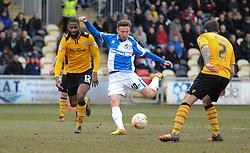 Matt Taylor of Bristol Rovers scores. - Mandatory byline: Alex James/JMP - 19/03/2016 - FOOTBALL - Rodney Parade - Newport, England - Newport County v Bristol Rovers - Sky Bet League Two