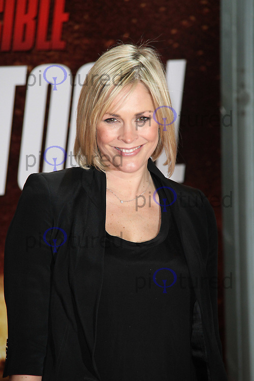 "LONDON - DECEMBER 13   Jenni Falconer attends the UK Premiere of  ""Mission: Impossible Ghost Protocol"" at the BFI IMAX Cinema, London, UK on December 13, 2011. (Photo by Richard Goldschmidt)"