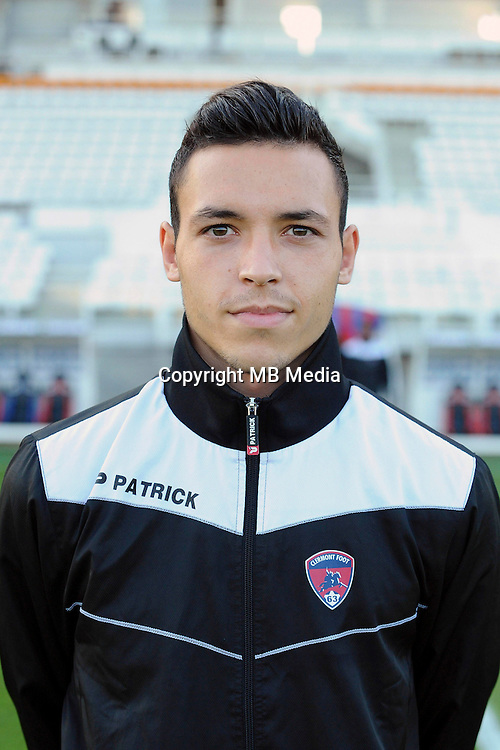 Mathias PEREIRA LAGE of Clermont during the Ligue 2 match between Clermont Foot and RC Strasbourg Alsace at Stade Gabriel Montpied on September 22, 2016 in Clermont-Ferrand, France. (Photo by Jean Paul Thomas/Icon Sport)