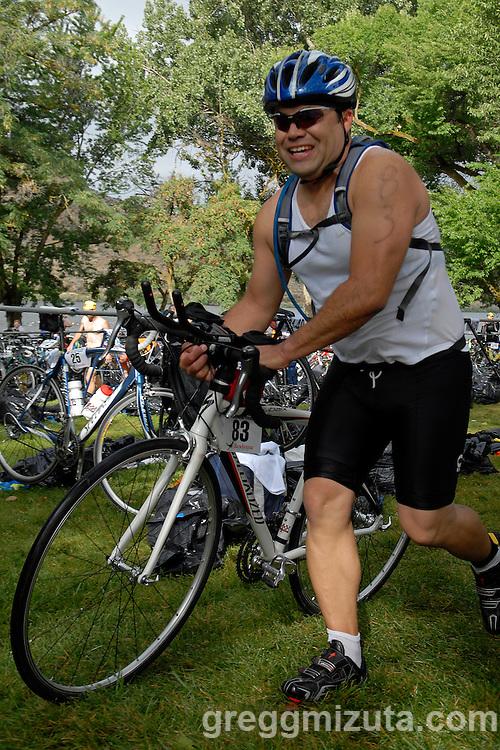 2009 Emmett's Most Excellent Triathlon - Jesus Blanco