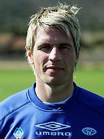 Fotball<br /> La Manga - Spania<br /> 03.03.2005<br /> Portretter Molde<br /> Foto: Morten Olsen, Digitalsport<br /> <br /> Magnus Kihlberg