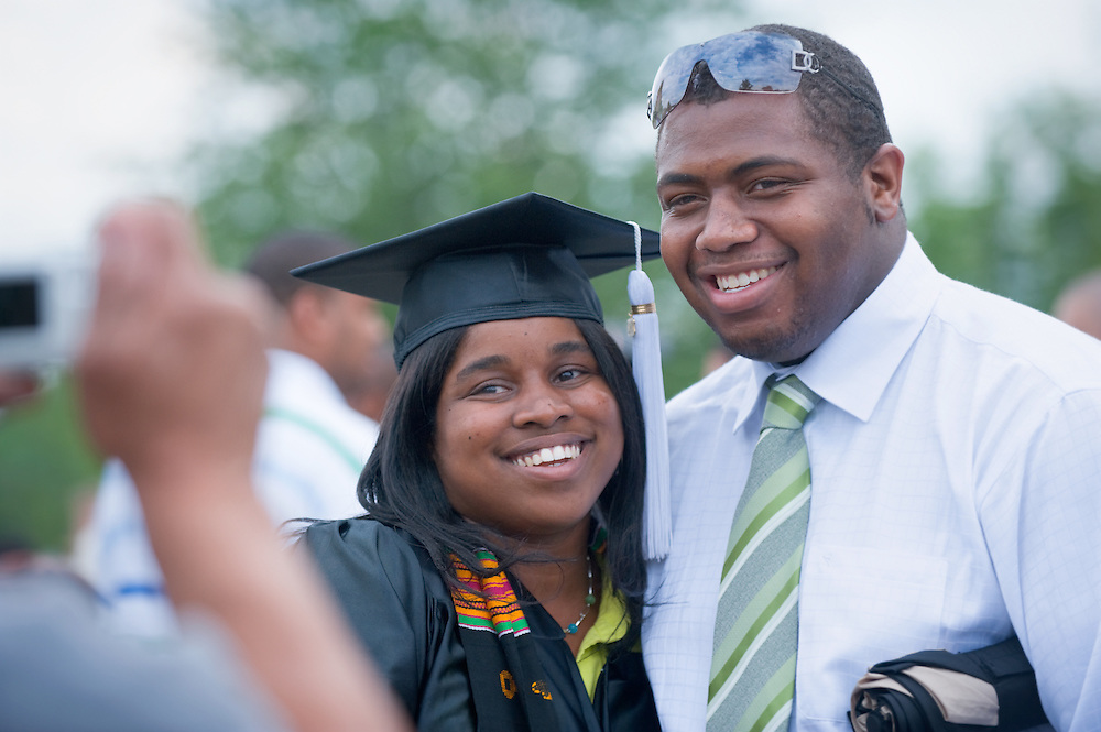 Undergraduate Commencement: Ohio University 2009 ..LaTasha Moore and Shad Williams