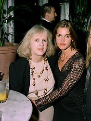 Left to right, designer TESSA KENNEDY and her daughter MISS MILICA KENNEDY, at a party in London on 27th May 1997.LYT 6 2OLO