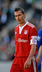 FC Magdeburg v FC Bayern München in Magdeburg,  Miroslav Klose (Bayern München) in action. 25th May 2009.