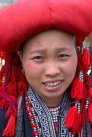 Vietnam. haut Tonkin. Region de Sapa. Dao Rouge. // Vietnam. North Vietnam. Sapa area. Red Dao ethnic group.