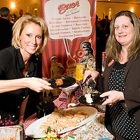 Lisa Johnson and Jackie Smith from Buca Di Beppo at Flavors of Neponset Valley 2011