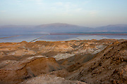 The evaporation pools at the Dead Sea Works (DSW), Dead Sea, Israel