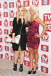 © Licensed to London News Pictures. 09/09/2013, UK. Danielle Harold; Lorna Fitzgerald,TV Choice Awards, The Dorchester Hotel, London UK, 09 September 2013 Photo credit : Richard Goldschmidt/Piqtured/LNP