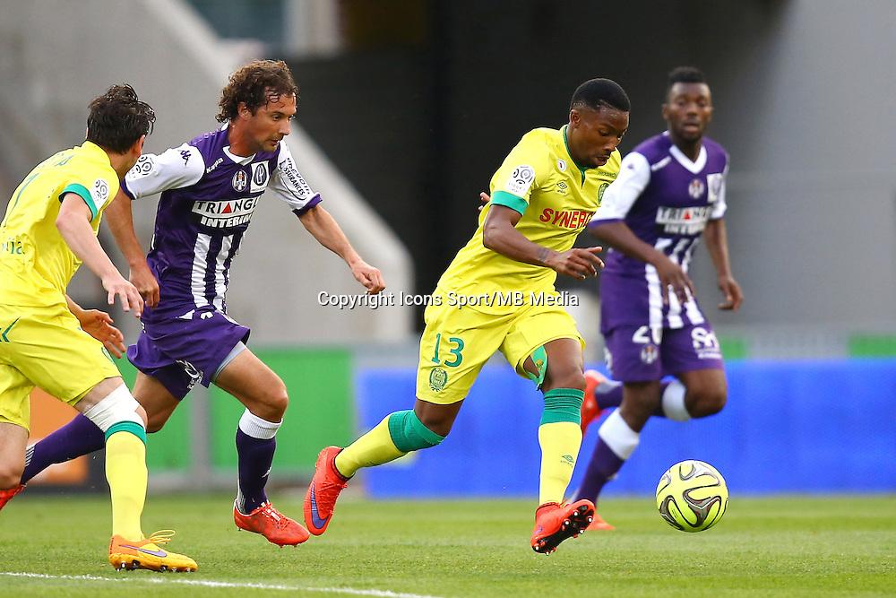 Serge Gakpe - 25.04.2015 - Toulouse / Nantes - 34eme journee de Ligue 1<br />Photo : Manuel Blondeau / Icon Sport