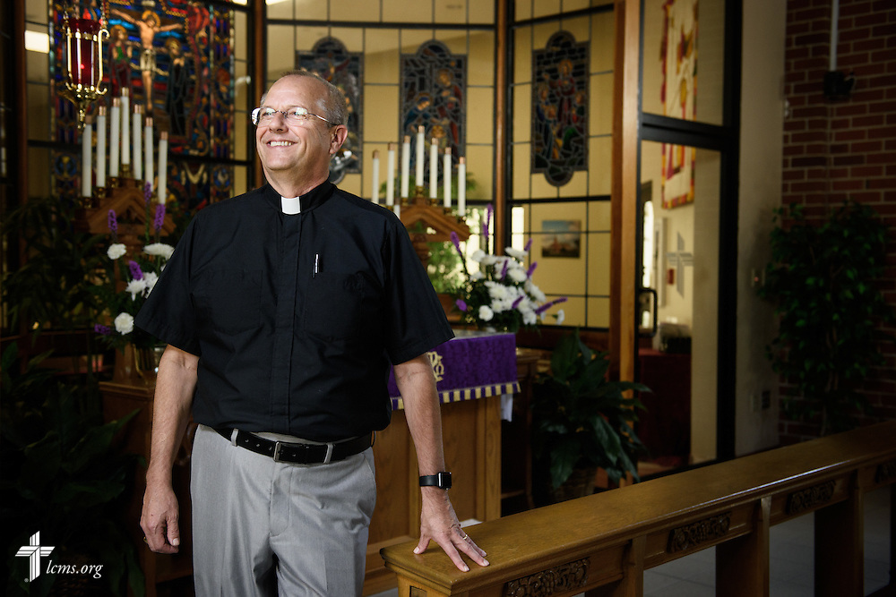 Portrait of the Rev. Wally Arp, senior pastor at St. Luke's Lutheran Church on Monday, March 7, 2016, in Oviedo, Fla. LCMS Communications/Erik M. Lunsford