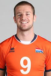 20160516 NED: Selectie Nederlands volleybal team mannen, Arnhem<br />Ewoud Gommans