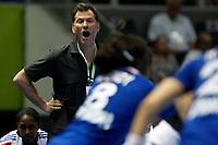 20111218: SAO PAULO, BRAZIL - French team coach  Olivier Krumholz   at France vs Norway final match of the XX World Handball<br /> PHOTO: CITYFILES