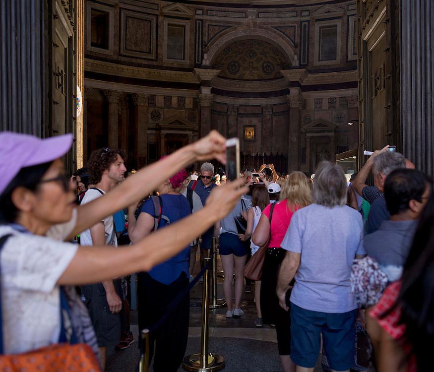 selfie al pantheon