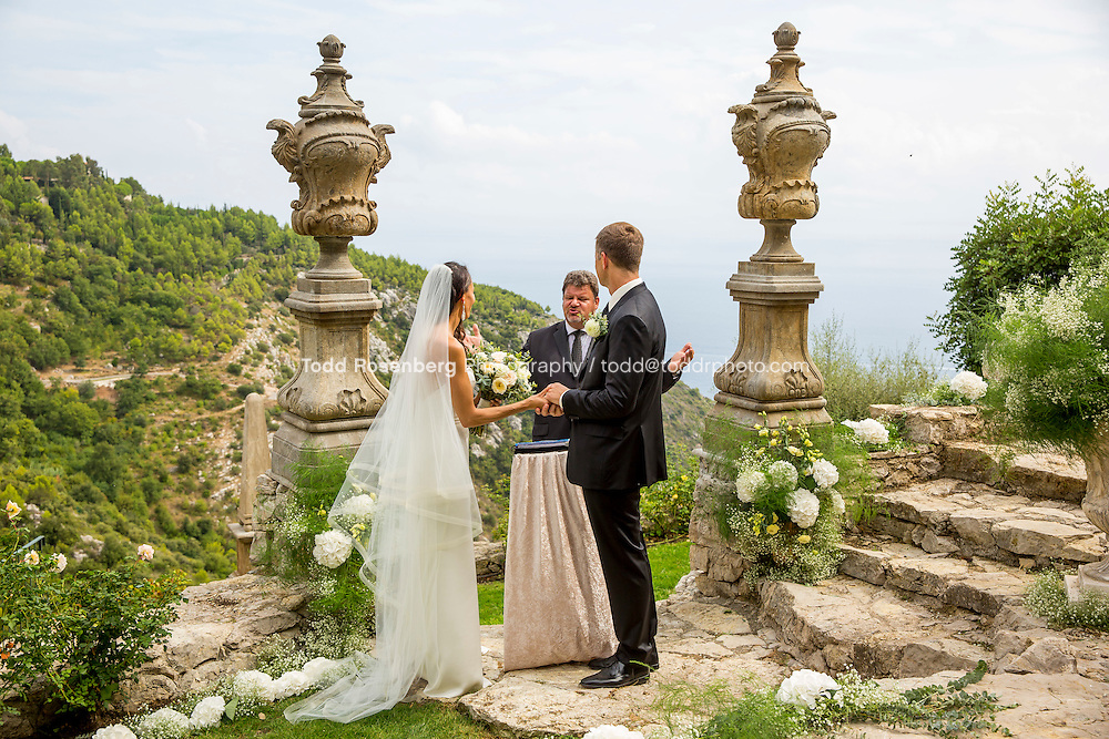 9/16/15 7:59:08 AM -- Eze, Cote Azure, France<br /> <br /> The Wedding of Ruby Carr and Ken Fitzgerald in Eze France at the Chateau de la Chevre d'Or. <br /> . &copy; Todd Rosenberg Photography 2015