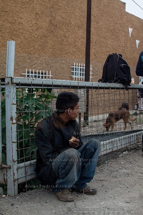 Migrant and Canela<br /> Canela e migrante