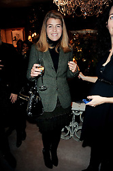 Ralph Lauren unique 4D light installation event, celebrating the launch of the UK ecommerce site, held at Ralph Lauren, 1 New Bond Street, London W1 on 10th November 2010.  Picture Shows:-AMBER NUTTALL